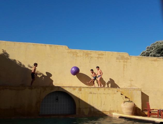piscine fete 20 ans
